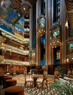 Carnival Conquest Lobby