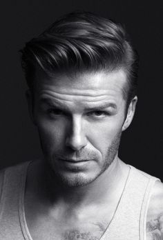 David Beckham always has awesome hair styles.