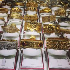 The Gold Souq in Doha  Qatar. Just browsing