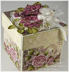 Kathy Roney - Joyfully Made Designs: Majestic Blooms Box - Heartfelt Creations - 9/3/14