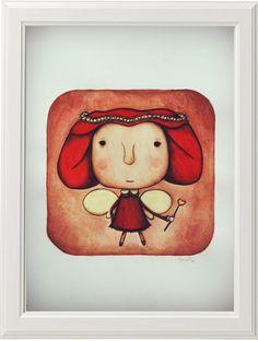 """""""Viola""""  Acuarela+lápiz de color sobre papel  30x21"""