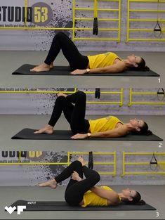 Πονάει η μέση σου; 3 απαραίτητες ασκήσεις pilates για το σπίτι που θα σε ανακουφίσουν Pilates, Gym Equipment, Fitness, Sports, Pop Pilates, Hs Sports, Excercise, Workout Equipment, Keep Fit