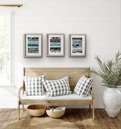 Modern Farmhouse Decor, reclaimed wood wall art, industrial art, shim wood wall art, modern rustic wall art for farmhouse remodel Modern Farmhouse Decor, Modern Rustic, Gallery Wall Frames, Reclaimed Wood Art, Wall Art Sets, Framed Art Prints, Black Frames, Farmhouse Remodel, Artists