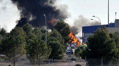 Se estrelló un F-16 en una escuela militar de la OTAN en España: al menos dos muertos.