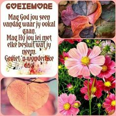 Morning Greetings Quotes, Morning Quotes, Lekker Dag, Goeie Nag, Goeie More, Afrikaans Quotes, Morning Blessings, Prayer Quotes, Lilac