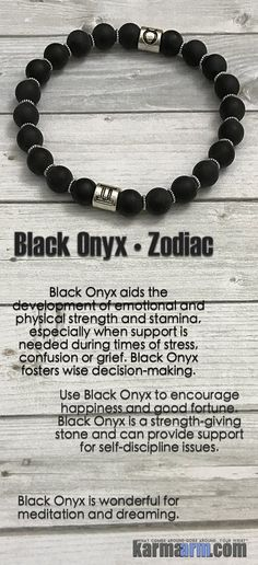His & Hers Zodiac Astrological Sign Bracelets......Yoga Bracelet. Mens & Womens Meditation Bead Mala. Black Onyx Zodiac Hororscope birthstone.
