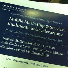 Mobile marketing & service