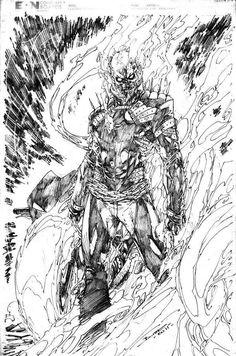 Ghost Rider by Brett Booth