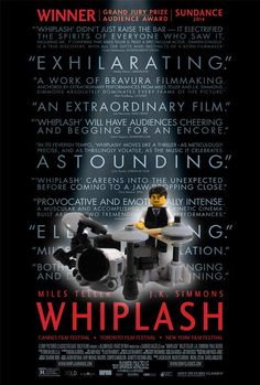 Whiplash   8 Oscar Nominee Posters, Made Better By Lego