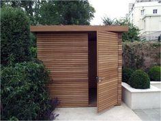 Garden Storage Shed, Outdoor Storage Sheds, Diy Shed, Bike Storage, Pallet Storage, Small Garden Storage Ideas, Tool Storage, Small Garden Gates, Outdoor Garden Sheds