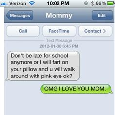 I will fart in your pillow.