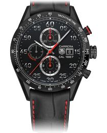 TAG Heuer CARRERA Caliber 1887 43mm Black Case and Dial/ Old Northeast Jewelers is your authorized dealer for Tag Heuer Watches in the Tampa Bay Area! 813-875-3935 www.oldnortheastjewelers.com International Plaza Tampa