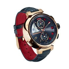 Horlogerie: montre Louis Vuitton Only Watch 2013 http://www.vogue.fr/joaillerie/a-voir/diaporama/horlogerie-only-watch-2013-vente-caritative-monaco-montres-roger-dubuis-van-cleef-arpels-piaget-chanel/15456/image/854692#!horlogerie-only-watch-2013-vente-caritative-monaco-montres-louis-vuitton