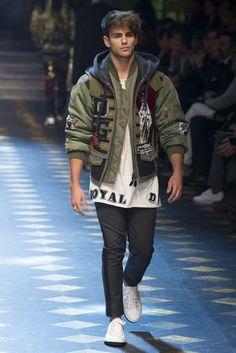 Dolce & Gabbana Autumn/Winter 2017 Menswear Collection   British Vogue