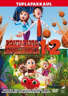 Cloudy With A Chance Of Meatballs/Cloudy With A Chance Of Meatballs 2 2 Movie, Kid Movies, Children Movies, Meatballs 2, Anna Faris, Neil Patrick Harris, Albondigas, Movie Collection, Christmas Movies