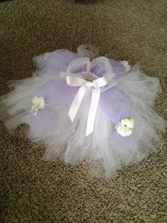 Sofia the first inspired tutu skirt for a little girls upcoming party.  This was created  by Angie at Tutus 2 You www.facebook.com/... or email tutu2you1@gmail.com