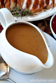 How to make Perfect Turkey Gravy! This gravy is so delicious, you'll never want to make any other gravy recipe!