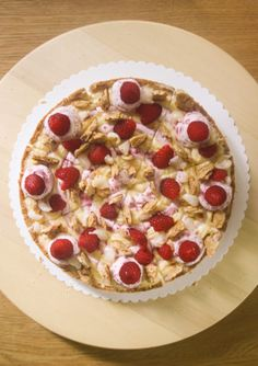 Marie Antoinoisette (Raspberry, Rose and Lychee Tart)   A Dutchie Baking