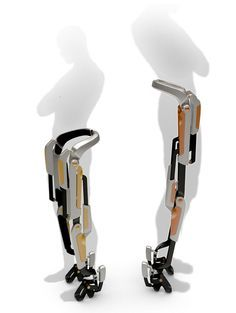 7Miles Robot: Concept for robotic orthesis for physically limited as well as active and healthy people. It captures leg movements and supports gluteal, femoral and calf muscles.   7Miles serves well as a city personal commuting device. Designed with compact and powerful linear electromotors, this robot allows user to travel over long distance naturally, quickly and with minimum effort.  It supports physical capabilities of healthy and the less fortunate ones.