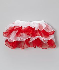Take a look at this Red & White Candy Cane Twirly Tutu - Infant, Toddler & Girls on zulily today!