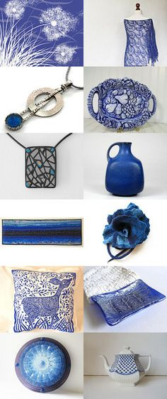 That's Why They Call It the Blues by Samantha on Etsy--Pinned with TreasuryPin.com
