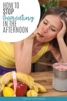 Do you often find yourselft overeating or losing your willpower in the afternoons? In this episode of Taste for Truth, we discuss why afternoon eating is so tempting, and how you can overcome overeating with God's help. Healthy Body Images, Tired Of Work, Stop Overeating, No One Is Perfect, Working People, Normal Life, Negative Emotions, Willpower, Get One