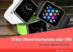 Top 10 Best Chinese Smartwatches under $100 [2017] Best Budget, Smart People, Smartwatch, Apple Watch, The 100, Chinese, Top, Smart Watch, Crop Shirt
