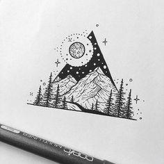 Fabulous Drawing On Creativity Ideas. Captivating Drawing On Creativity Ideas. Easy Drawings Sketches, Art Drawings, Cat Tattoo, Tattoo Drawings, Stippling Art, Black And White Drawing, Black Pen Drawing, Flash Art, Pen Art
