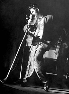 """…But Presley is mostly nightmare. On stage, his gyrations…are vulgar… He has also dragged 'big beat' music to new lows in taste…""               – Look magazine, 1956   