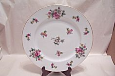 Occupied Japan Apple Blossom Plate