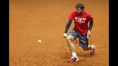 Coupe Davis: Suisses à l'entrainement - http://www.actusports.fr/124743/coupe-davis-suisses-lentrainement/