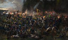 Битва при Теуген-Хаузене 19 квітня 1809 рік