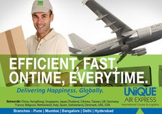 Committed and Proven for #Efficient, #Fast & On-time #delivery, Every-time !  #Courier #Cargo #Freight #Import #Export