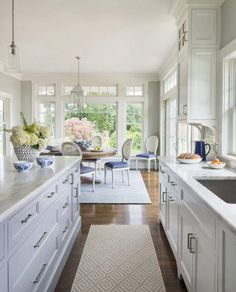 easy elegant style kitchen and dining room interior design