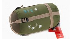 Besteam Envelope Outdoor Sleeping Bag Camping Travel Hiking Multifuntion Ultra-light (Army Green)