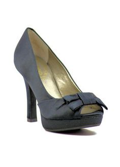 "@McKensie Critser Yes? No?  Black Prom shoes with 3.75"" heels and .75"" platform (Style 90-1)"