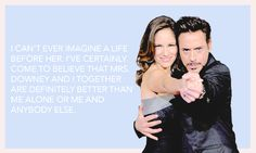 Robert Downey Jr. and Susan Downey, OTP