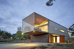Detail from Rest House. the Mornington Peninsula in Victoria, Australia by Tim Spicer Architects and Col Bandy Architects