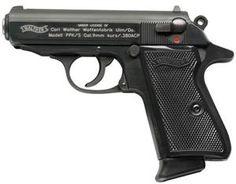 "Walther PPK/S Pistol, 380ACP, 3.35"" Barrel, Blue"