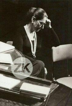 Maria Callas em 1975.                                                                                                                                                     Más