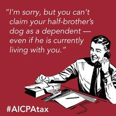 #Tax season is here! #accounting humor