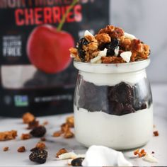 Dried Cherries, Dried Fruit, Panna Cotta, Cherry, Cooking Recipes, Pudding, Ethnic Recipes, Desserts, Food