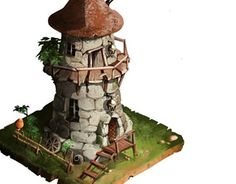 """Check out new work on my @Behance portfolio: """"isometric: tower"""" http://be.net/gallery/32215065/isometric-tower"""