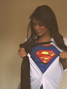 Who said Superman had to be a guy? I know loads of Superwomen!
