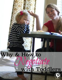 Why negotiate with toddlers? Find out the benefits and the true art to negotiating with children.