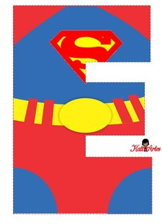 ... Superman Birthday Party, Girl Superhero Party, Avengers Birthday, Wonder Woman Birthday, Wonder Woman Party, Superman Party Decorations, Spiderman Images, Superhero Alphabet, Boy Cards
