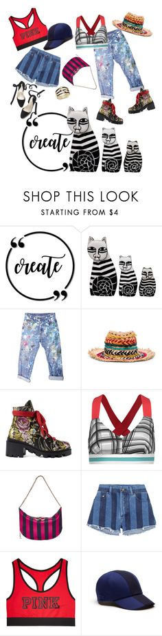 """create"" by sweetyincago ❤ liked on Polyvore featuring Rialto Jean Project, Etro, Gucci, No Ka'Oi, Nina Ricci, Yves Saint Laurent, Victoria's Secret, Lacoste and Bloomingdale's"