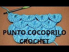 Aprende como tejer a crochet en español, en este canal encontrarás fáciles tutoriales en vídeo sobre puntos básicos, puntos fantasías, puntillas, flores, lab...