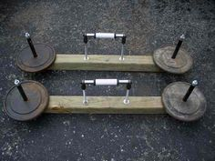 DIY Farmers walk handles - Bodybuilding.com Forums