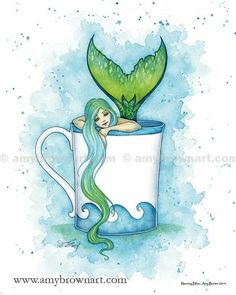 Fantasy Mermaids, Unicorns And Mermaids, Real Mermaids, Mermaids And Mermen, Amy Brown Fairies, Dark Fairies, Mermaid Fairy, Mermaid Drawings, Fairy Art